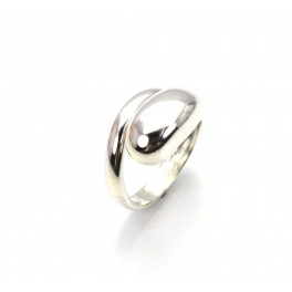 925 SOLID STERLING SILVER PLAIN SNAKE RING