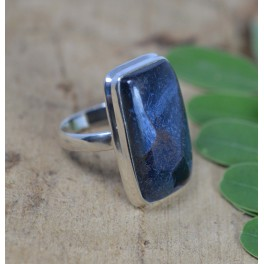 925 SOLID STERLING SILVER PIETERSITE RING-9 US
