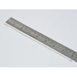925 SOLID STERLING SILVER PLAIN BRACELET- 8.2 INCH
